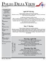 April – May 2010