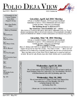 April – May 2011