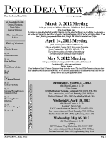 March – May 2012