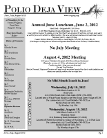 June – August 2012